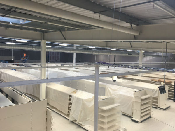 Data Center Installation for J Sainsbury's